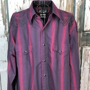 Authentic western shirt by Wrangler